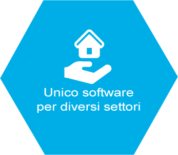 Unico software per diversi settori